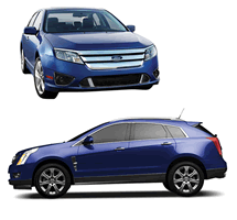 Ford Fusion and Cadillac SRX